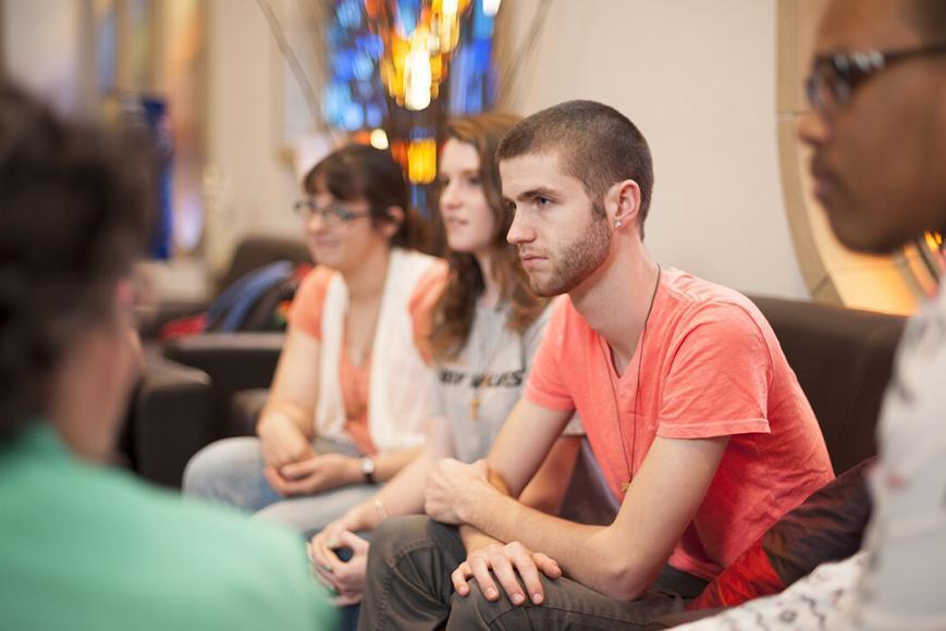 Students focused