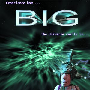 Shows the universe is big