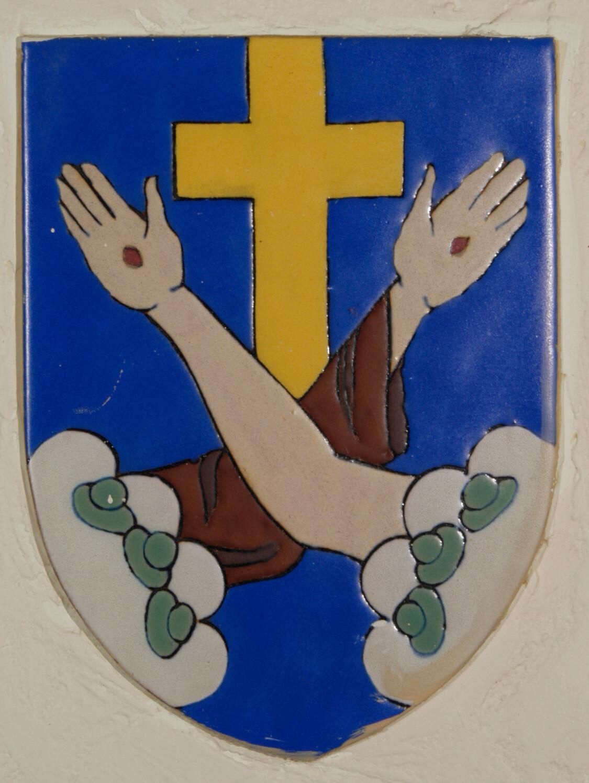 Common symbols lourdes university franciscan coat of arms biocorpaavc Choice Image