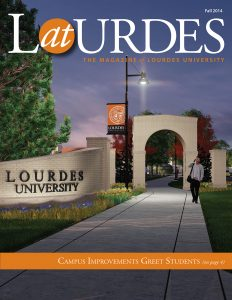 AtLourdes Magazine Fall 2014 Cover