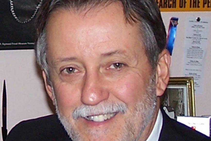 Close up of Larry Godfrey a Psychology instructor