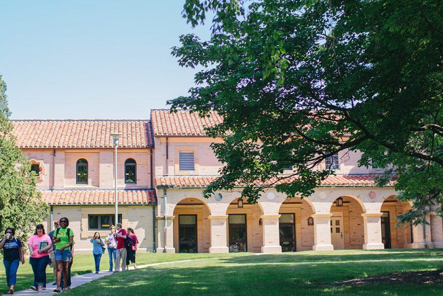 photo of Lourdes campus building
