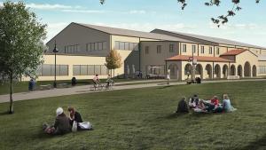 Recreation Center exterior rendering