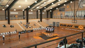 Recreation Center indoor rendering