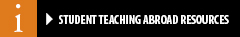 Student Teaching Abroad Resources