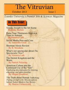 The Vitruvian OCT 2013 Edition