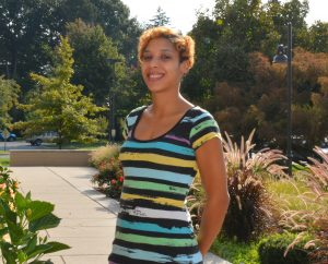 social work student Amber Nolan