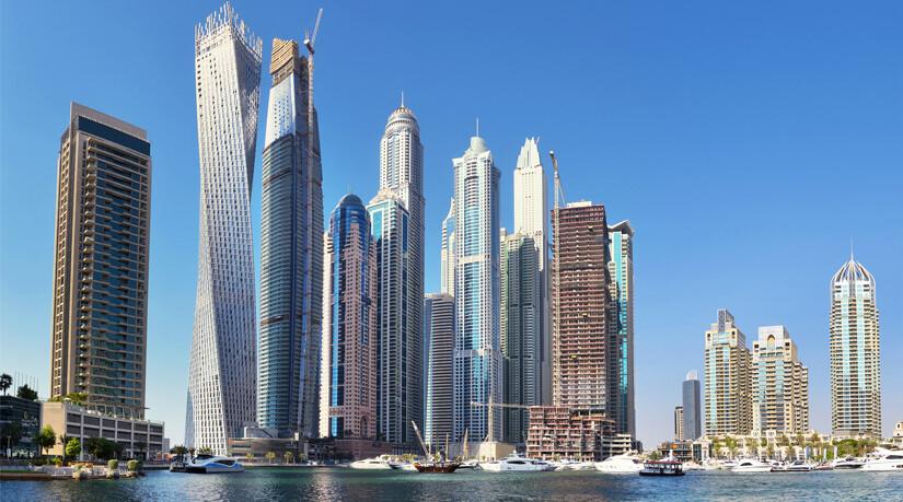 Dubai Skylin image