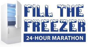 fill the freezer 24 hour marathon
