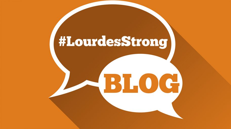 Lourdes Strong Blog Logo