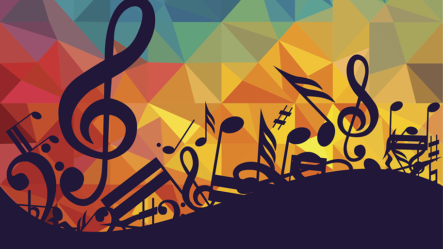 Choral and pep band