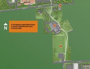 Mid Campus Map