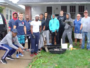 Week of Service at Maumee Valley Habitat for Humanity