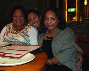 Gina, Tiffany And Kim Paris