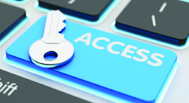 A key on access key