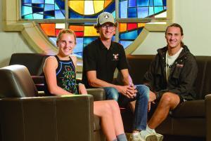 Aubrey, Hunter and Conner Mishler