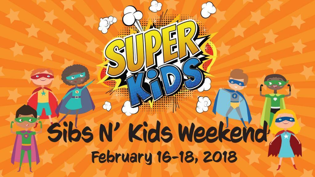 Sibs N Kids Weekend 2018