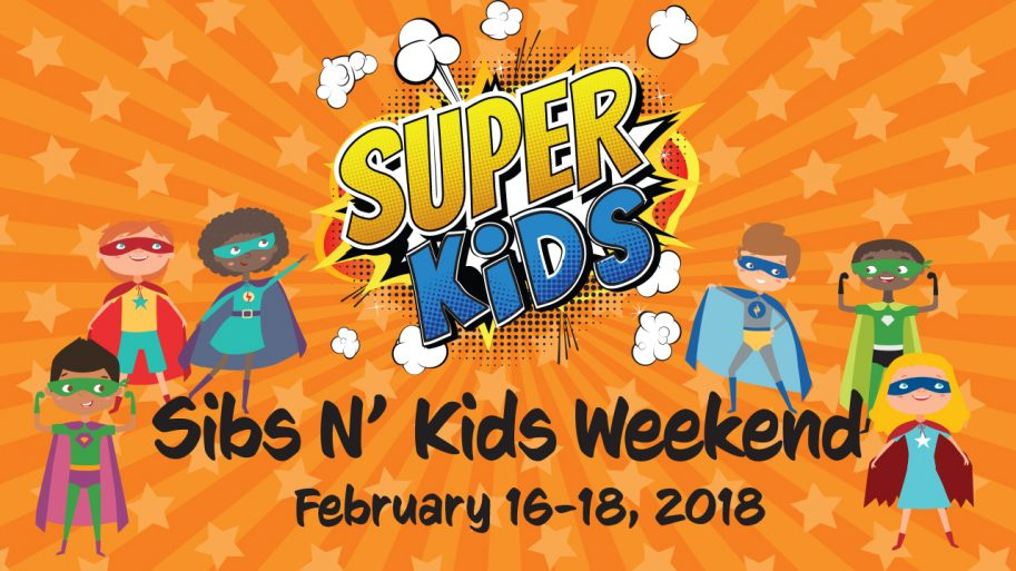 Sibs N Kids Weekend 2018