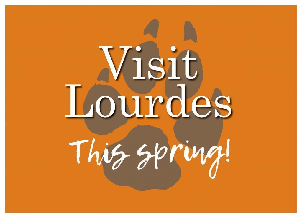 Visit Lourdes This Spring