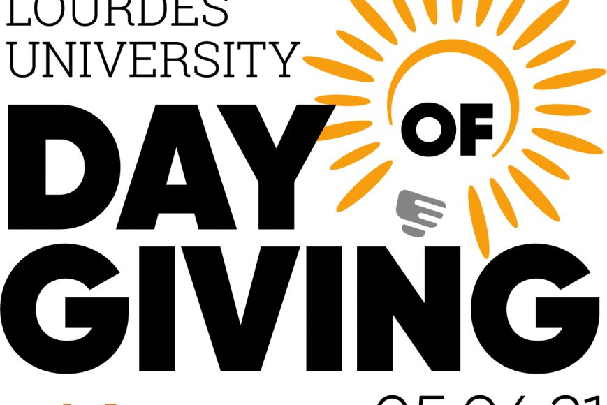 Day of Giving May 6 2021 logo with lightbulb