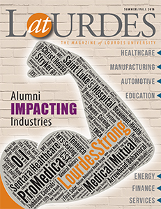 Fall 2018 AtLourdes Magazine Cover