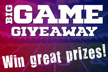 Big Game Giveaway image
