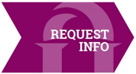 Request Information Purple Arrow