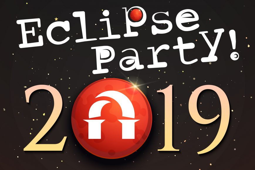 Eclipse Party graphic