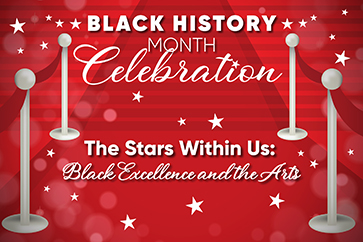 Celebration of Black History Month with Stars