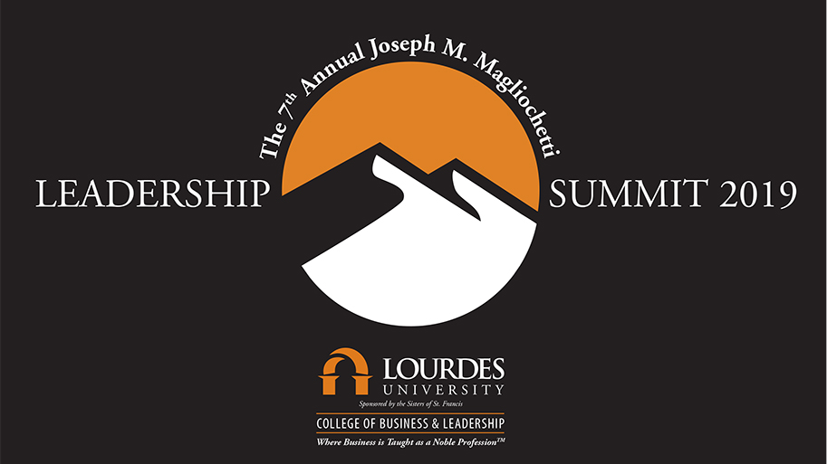 Logo for the Leadership Summit event