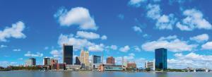 downtown Toledo skyline