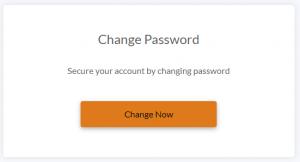 orange change now button