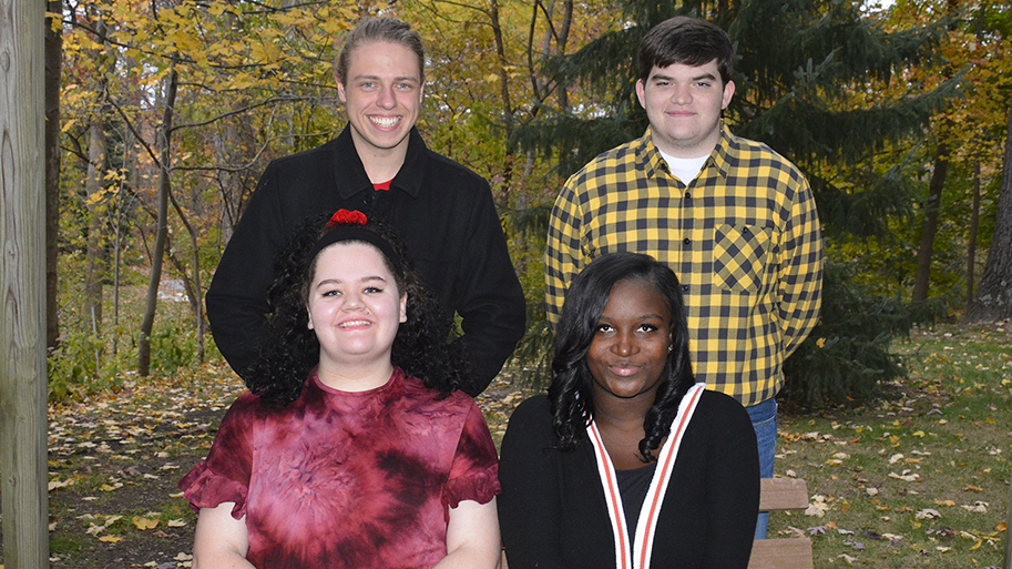 SGA Officers On Campus
