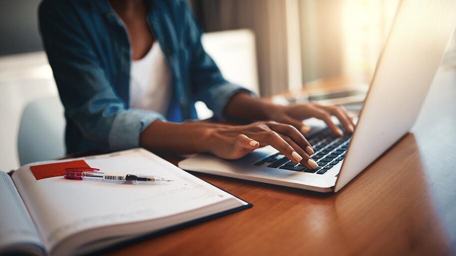 Women Using A Laptop