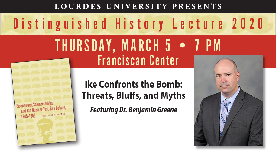 Image with Distinguished History Lecture details