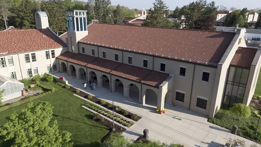 Lourdes University Campus Image photo at top of web page