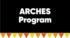 Box with words: ARCHES Program