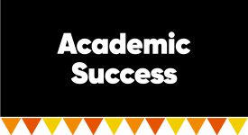 Box with words: Academic Success