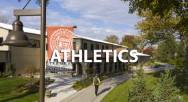 Image of Rec Center outside with Athletics text