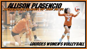 Allison Plasencio Defensive Player Of The Year Volleyball