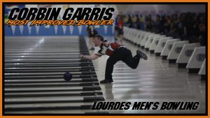 Mens Bowling Most Improved Bowler Corbin Garris