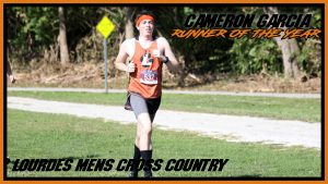 Cameron Garcia Runner Of The Year Cross Country