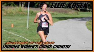 Ellie Kosek Newcomer Of The Year Cross Country