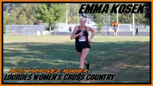 Emma Kosek Most Improved Runn Cross Country