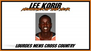 Lee Korir Newcomer Of The Year Cross Country