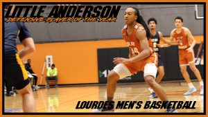 Mens Basketball Little Anderson Defensive Player Of The Year