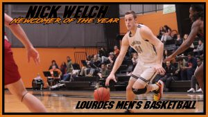 Mens Basketball Nick Welch Newcomer Of The Year