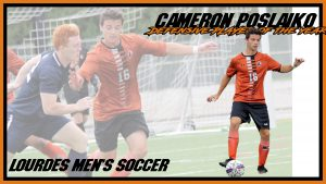 Mens Soccer Cameron Poslaiko Defensive Player Of The Year