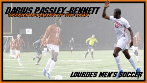 Mens Soccer Darius Passley Bennett Offensive Player Of The Year