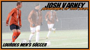 Mens Soccer Josh Varney Newcomer Of The Year